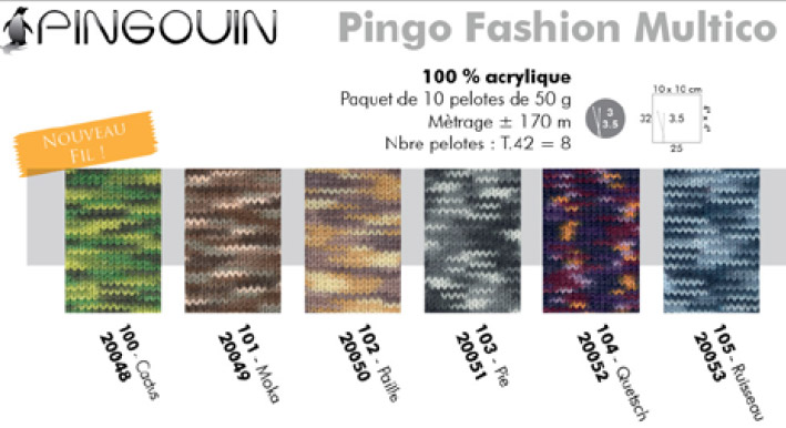 Pingo Fashion Multico